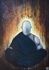 The Glow Of Silence original painting by artist Rafi Perez