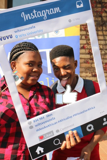 In celebration of Africa Day, Vuvuzela went onto Wits Camous and got pictures of Witsies who posed to show their support. This was part of a social media campaign run by Vuvuzela to promote what makes Africans, African.
