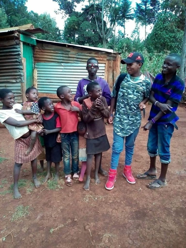 The importance of our boys home visits at Rafiki Mwema