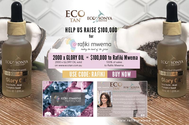 Eco Tan pledge $100K to Rafiki Mwema
