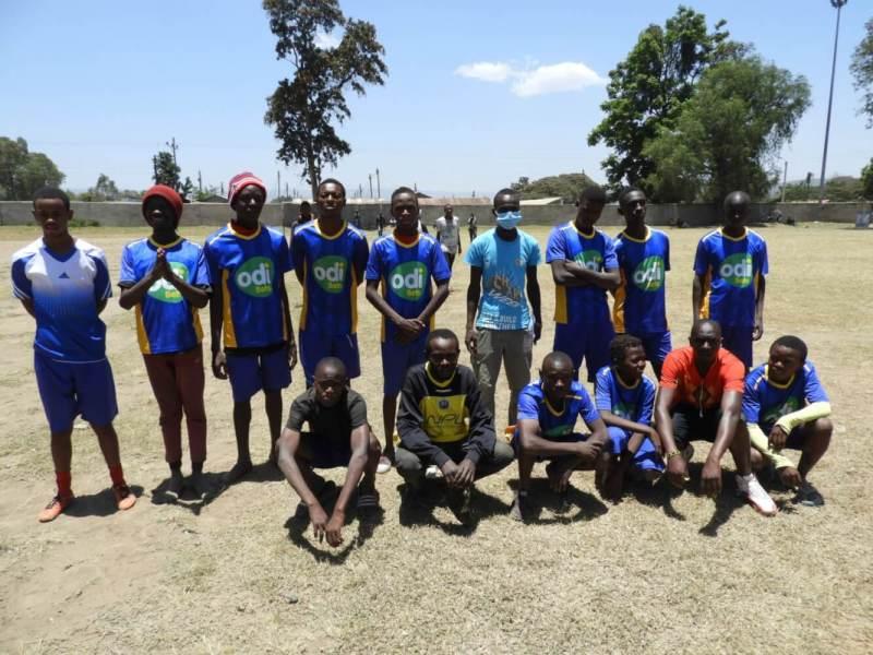 soccer match - town team