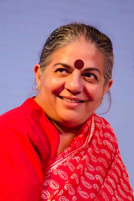 Inspirational Women - Vandana Shiva