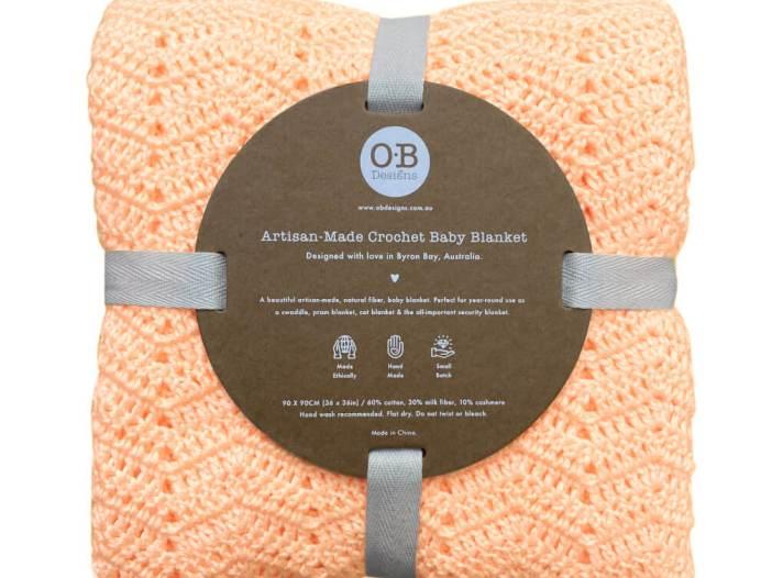 O B Designs Blanket