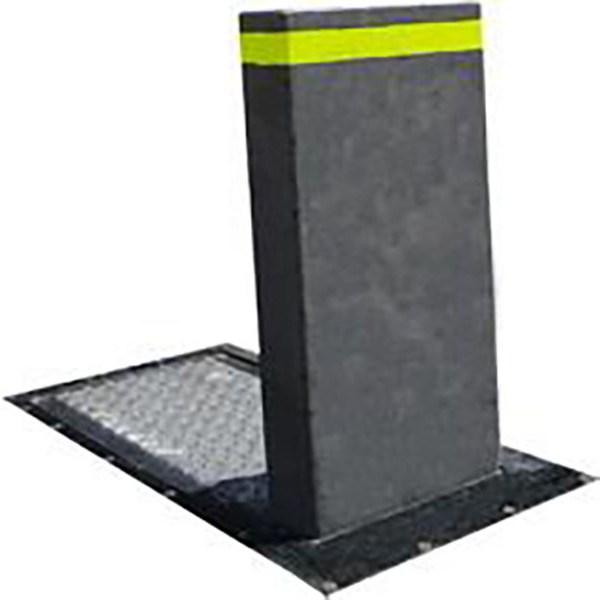 Bolardo electrohidráulico para el control de accesos