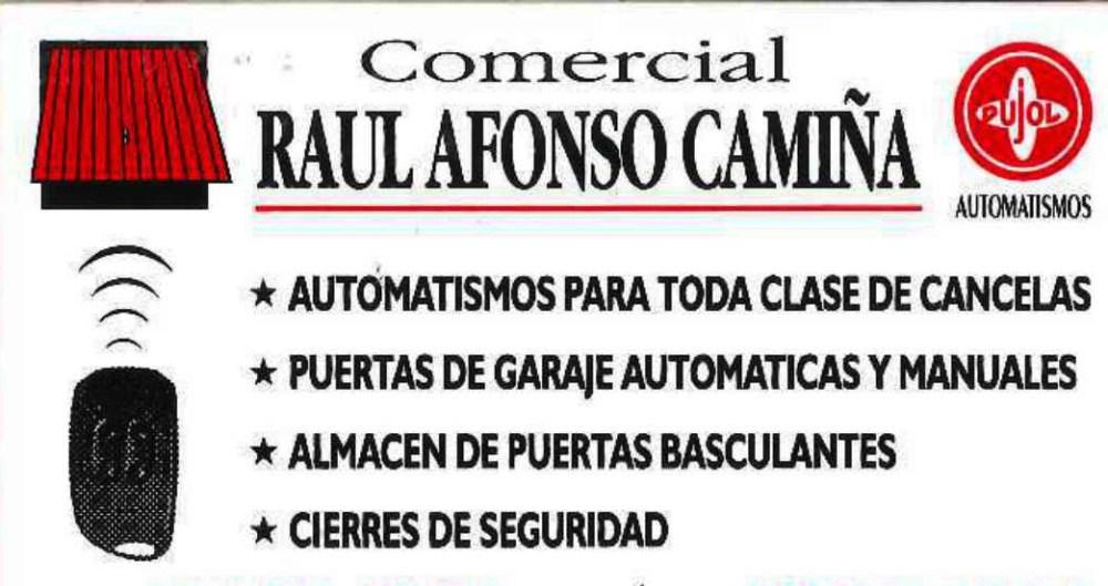 Creación de Comercial Raúl Afonso Camiña