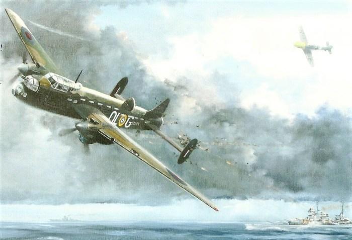 painting of McFarlane aircraft
