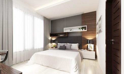 Kamar Tidur Utama (Master Bedroom)