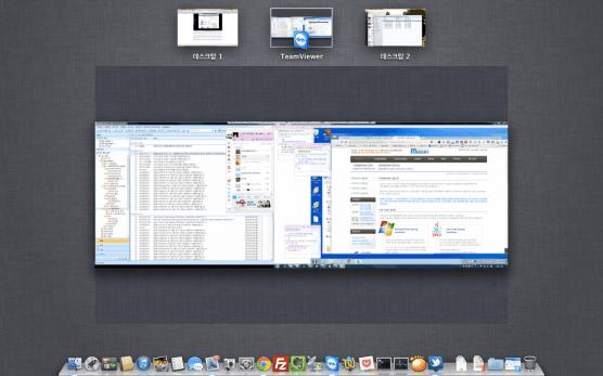 OS X의 Space