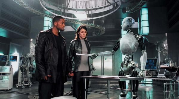 """""""아이, 로봇""""(2004, (c)20th Century Fox)"""