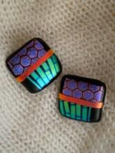 A bold stylized patchwork design makes a statement for the wearer. (yokostar.com)
