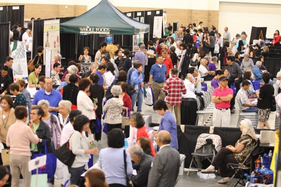 Nearly 3,000 community members took charge of their own health by attending Keiro's Genki Living Expo in 2011.