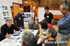活発な意見交換が繰り広げられた「都市計画開発」テーブル