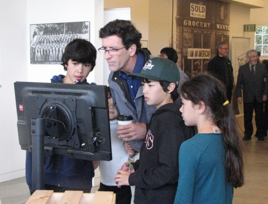 Interactive exhibits are designed for visitors of all ages.