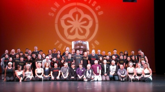 Performers at last year's International Taiko Festival.