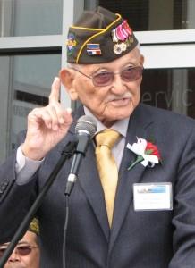 Maj. Gen. Arthur Ishimoto (retired), an MIS veteran, was the main speaker.