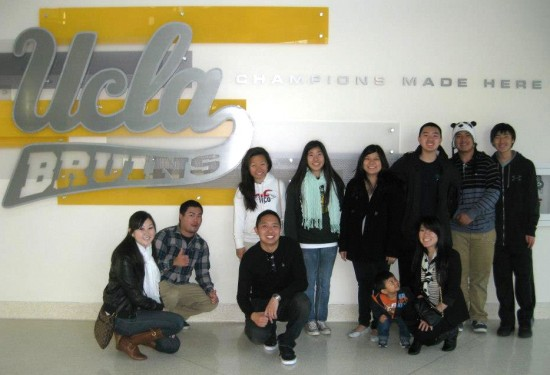 Highlights of the Community Mentor Program include tours of UCLA (above) and the Japanese American National Museum (below).