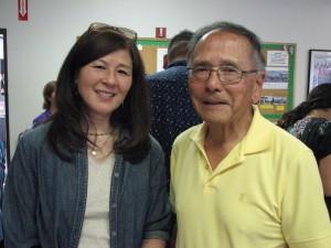 Marian Sunabe and Phil Shigekuni.