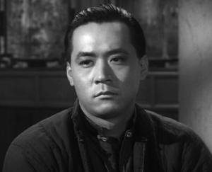 """James Shigeta as a Chinese immigrant in """"Walk Like a Dragon."""""""