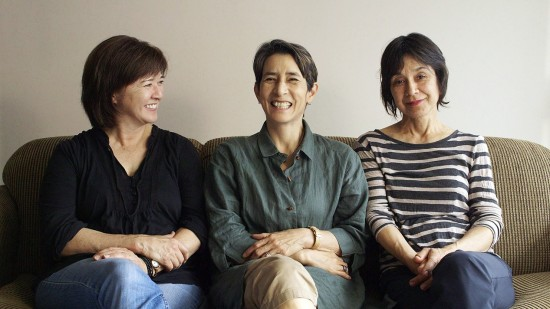 Filmmakers (from right) Katheryn Tolbert, Lucy Craft and Karen Kasmauski are all first-born daughters of Japanese war brides.