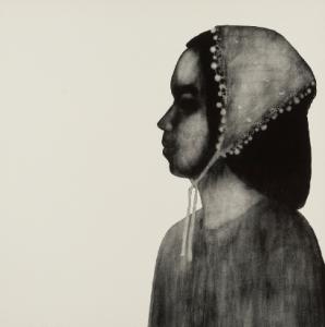 """Aiko,"" 1965 Ruth Asawa (American, 1926-2013) Lithograph Sheet: 22 x 22 in. (55.9 x 55.9 cm) Norton Simon Museum, Anonymous Gift, 1966 P.1966.07.125 © 2014 Estate of Ruth Asawa"