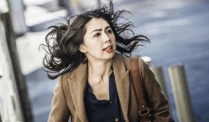 "Ayako Fujitani stars in ""Man from Reno."""