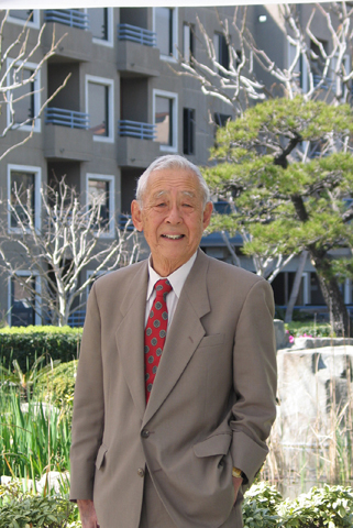 James Mitsumori on the Keiro campus in Lincoln Heights.