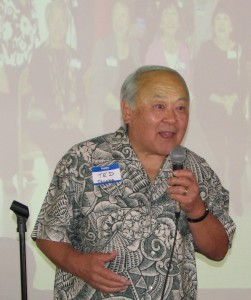 Ted Tanaka is working on Sawtelle's centennial commemoration.
