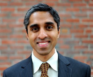 Vivek Murthy (Photo by Meredith Nierman)