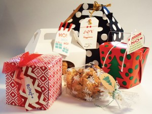 Boxed and tagged, special cookie gifts are ready of giving. (Photos by TOMMY MIYASAKI)