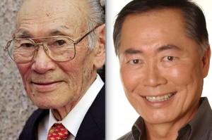Fred Korematsu and George Takei