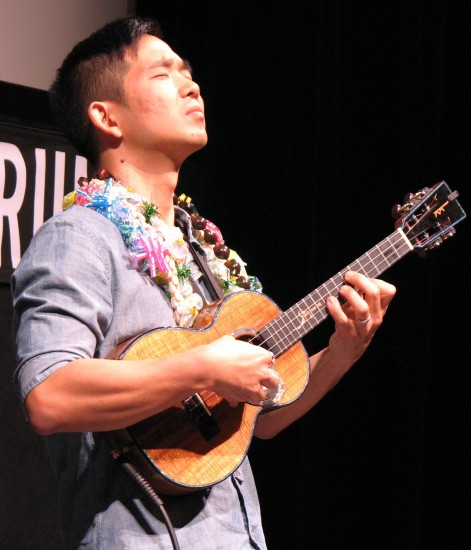 """Jake Shimabukuro's performance included his cover of """"While My Guitar Gently Weeps."""""""