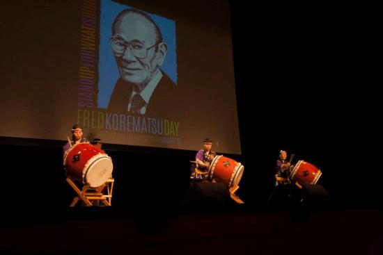 Taiko performance by Genryu Arts.