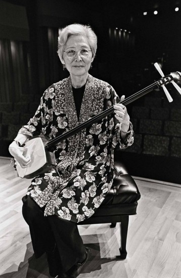 In addition to being an activist, Lillian Nakano was a talented shamisen player.