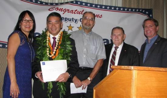 From left: Terry Hara, Doug Erber