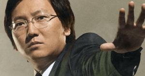 Masi Oka as Hiro Nakamura.