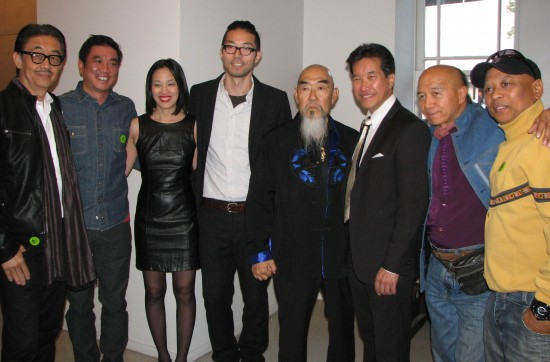 From left: George Cheung, Milton Liu, Lia Chang, Oliver Ike, Gerald Okamura, Peter Kwong, Eric Lee and Ewart Chin.