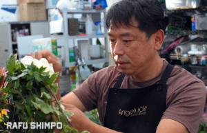 """I've never created anything I can't explain,"" Nakamura said. (RYOKO NAKAMURA/Rafu Shimpo)"