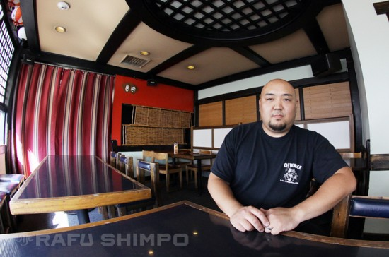 """James Ota has been the owner of Oiwake since 2010. He calls the decision to close the restaurant """"bittersweet."""" (MARIO G. REYES/Rafu Shimpo)"""