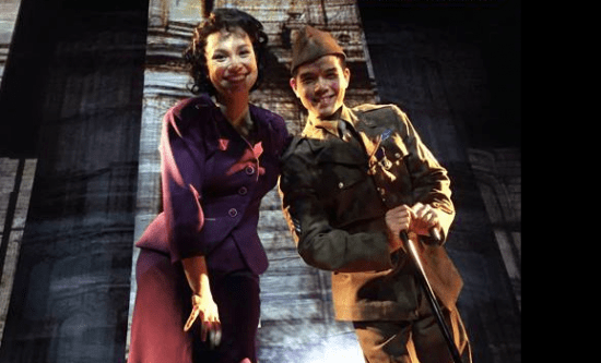 """Lea Salonga and Telly Leung play siblings in """"Allegiance."""""""