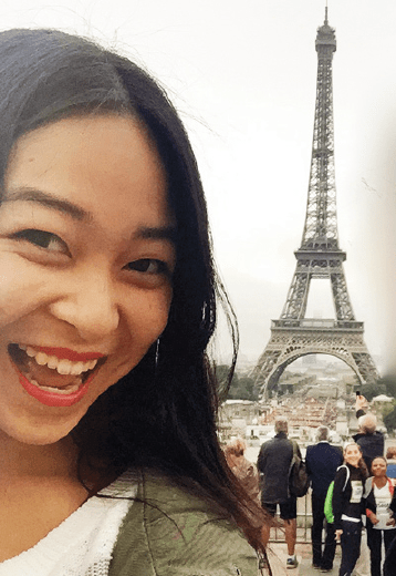 UC Berkeley sophomore Kacey Mayeda is studying abroad this fall semester in Paris, and decided she would remain there following the Nov. 13 terrorist attacks in the city.