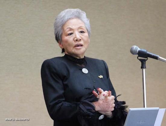 新会長に選ばれた川口利恵さん