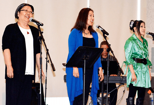 Entertainment was provided by the Grateful Crane Ensemble.