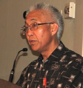 Masao Suzuki of Nihonmachi Outreach Committee.