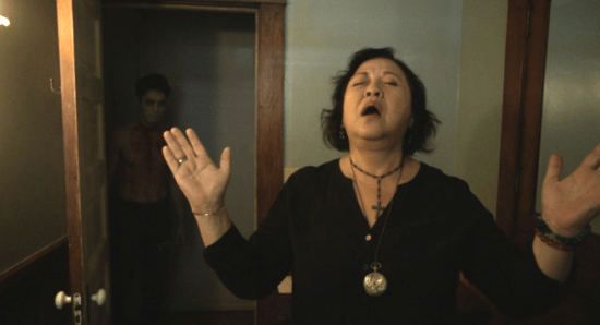 """Amy Hill in a scene from """"The Unbidden."""""""