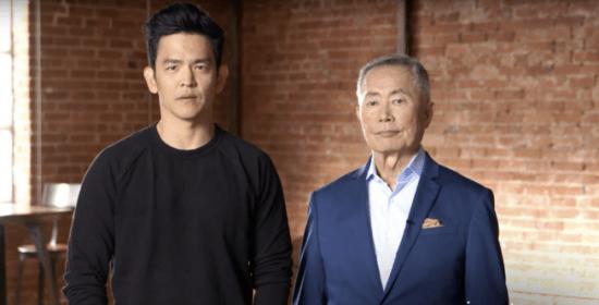 John Cho and George Takei