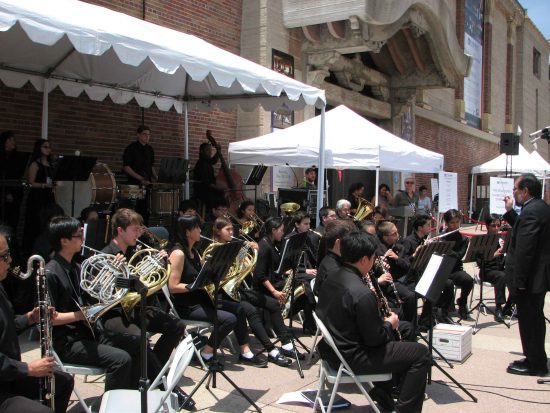 Performers included nTyme (North Torrance Youth Musicians Ensemble).