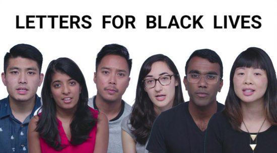 letters for black lives