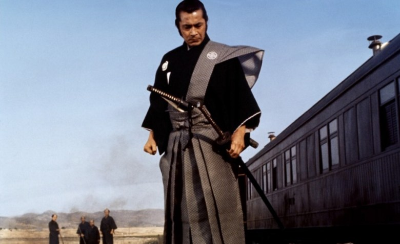 "Toshiro Mifune in a scene from ""Red Sun"" (1971)."