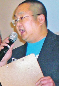 Aaron Takahashi served as emcee.