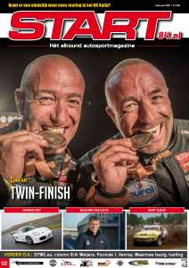 Cover START '84 autosportmagazine februari 2017